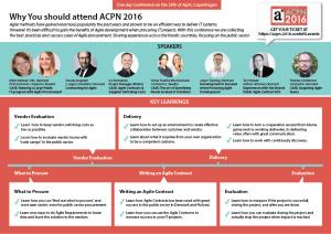 Conference on Agile Procurement