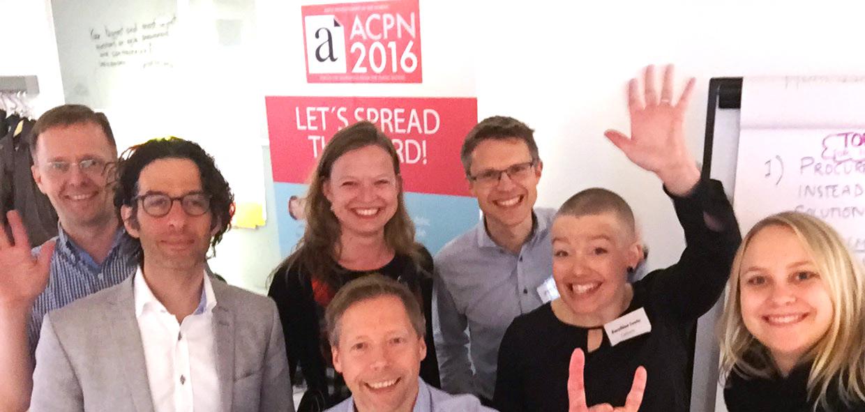 Talare och arrangörer av ACPN 2016
