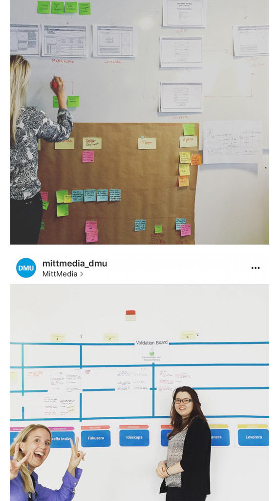 MittMedia Agile and Lean UX Coaching