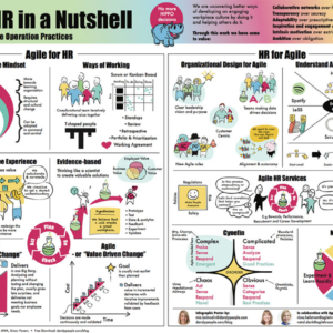 Agile HR in a Nutshell Poster