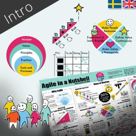 Agile in a Nutshell – Grundutbildning i Agile – 1 utbildningsdag