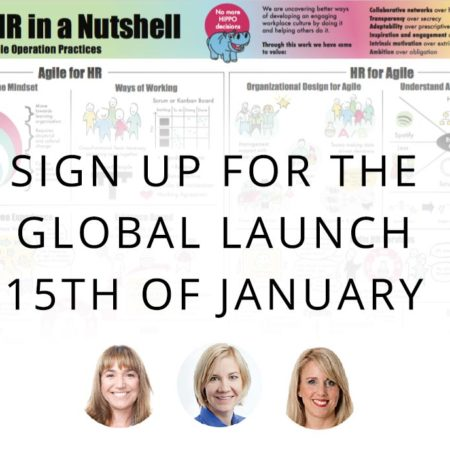 Free Webinar – Launch of the new Agile HR in a Nutshell poster