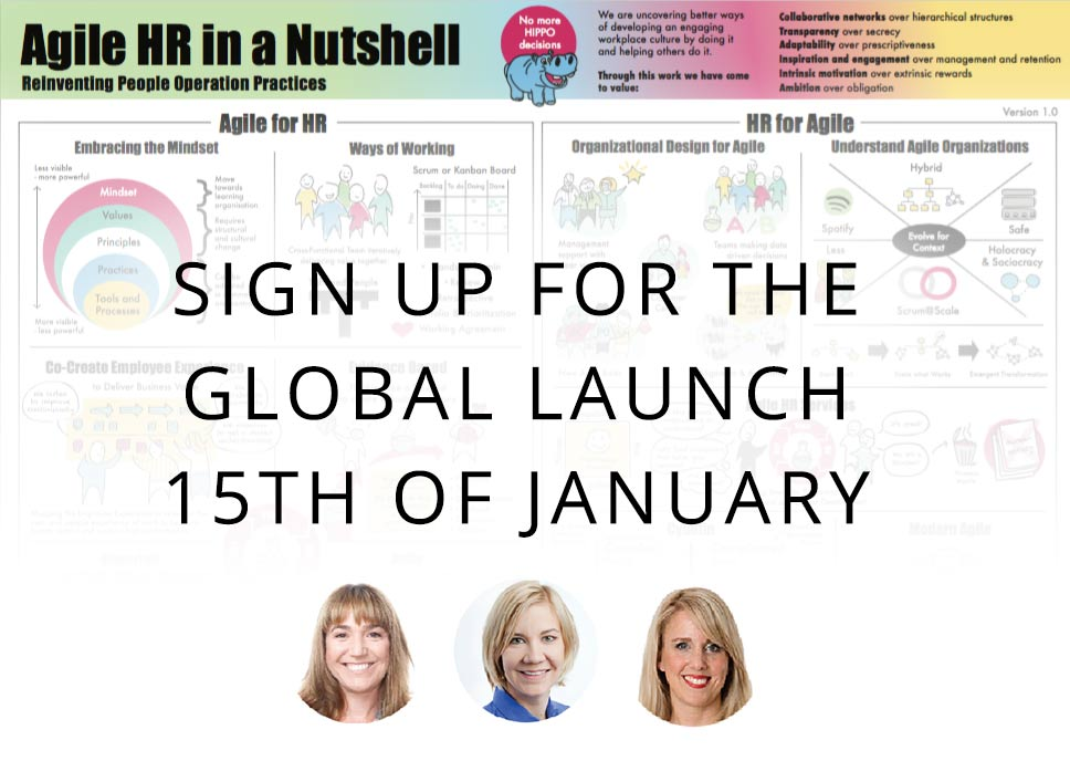 Agile HR Poster - Global Launch