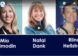 Watch the Agile HR in a Nutshell Webinar