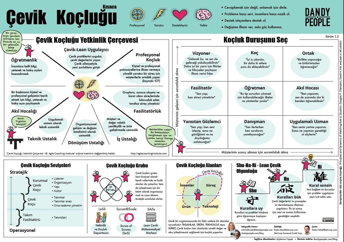 agile coaching in a Nutshell - Turkish