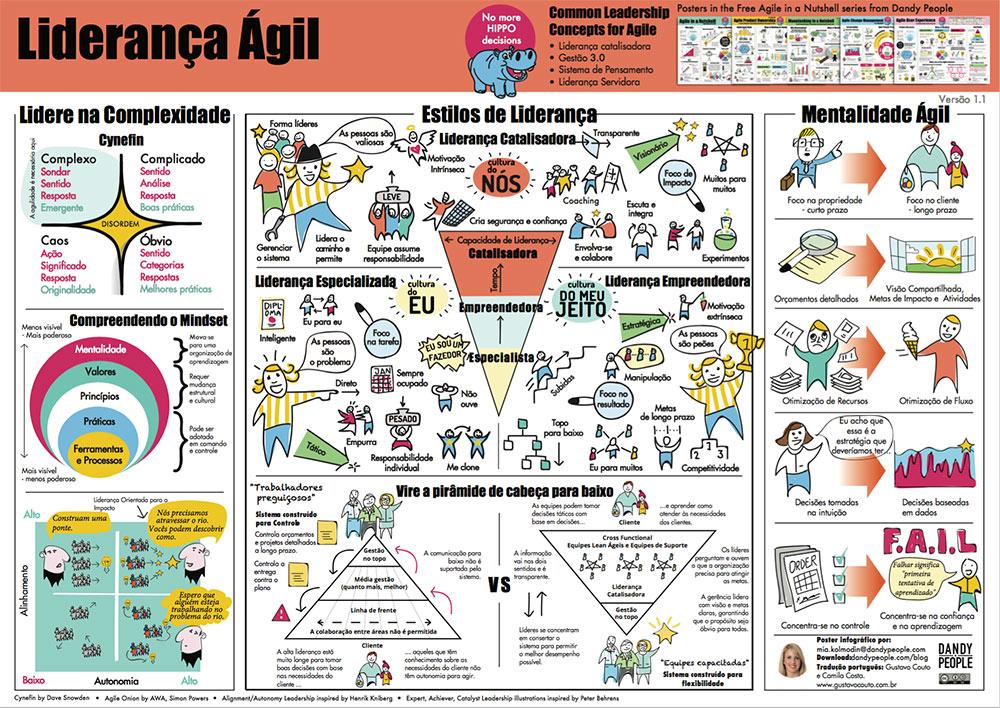 Agile leadership portuguese