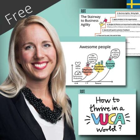 Gratis seminarium – Unlocking The Collective Intelligence With Business Agility (SWE)