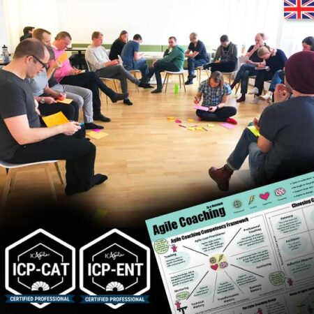 Enterprise Agile Coach Bootcamp with Certifications (ICP-ENT & ICP-CAT) – 5 day training