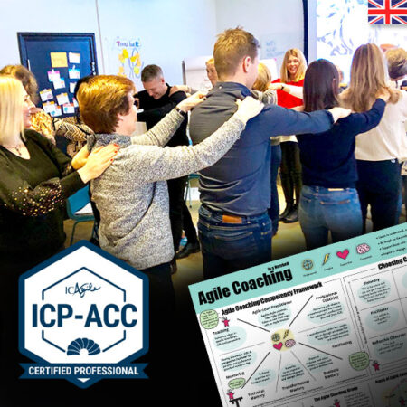 Agile Team Coach with Certification (ICP-ACC) – 3 days